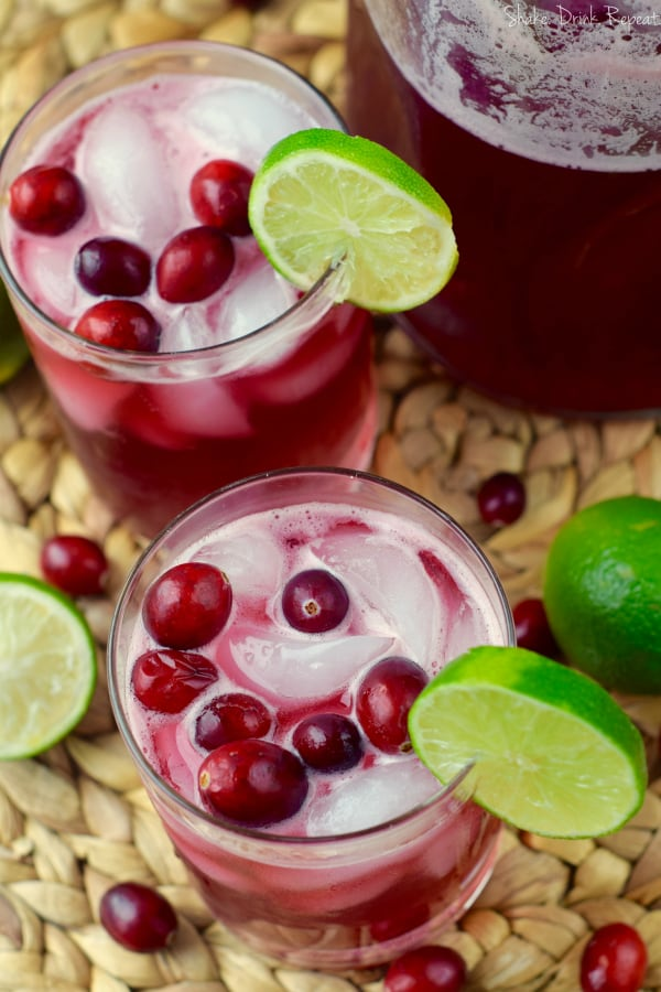 These cranberry beergaritas make the perfect holiday cocktail!