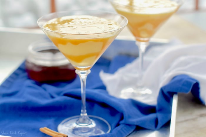 Your holiday drink should be this Eggnog Martini!