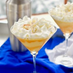 This Eggnog Martini is a must for your holiday celebration!