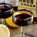 You'll love this whiskey and wine cocktail. It's the best of both worlds.