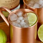 If you are looking for the best Moscow Mule recipe, this is it! Served up in copper mugs to keep it nice and cold.