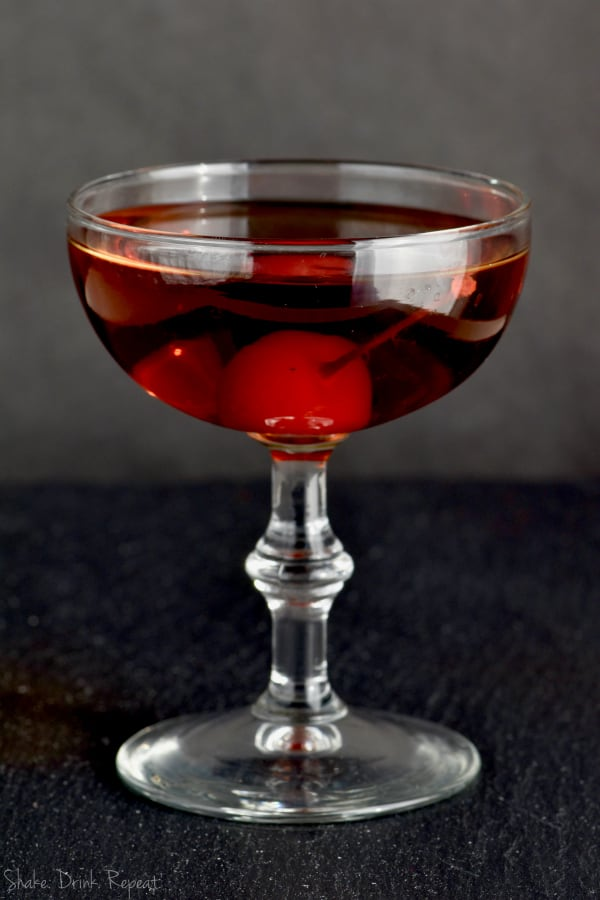 This Manhattan is a great classic drink recipe!