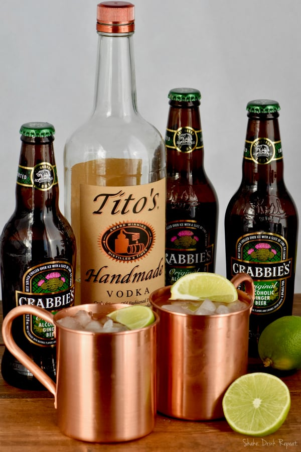 Only a few simple ingredients are needed to make the best Moscow Mule recipe!