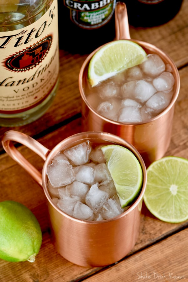 The original Moscow Mule recipe comes together so fast, you will want to make it again and again.