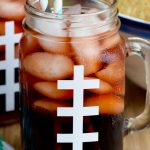 This Super Bowl Slammer Drink Recipe is a great quick way to get a buzz for the big game! It is one of the best tailgating drinks because it is easy to make and full of fun flavor combinations.