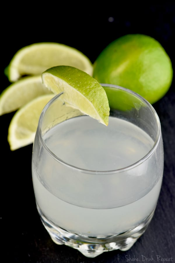 This vodka gimlet straight up, is a no muss, no fuss cocktail that you will love every time!