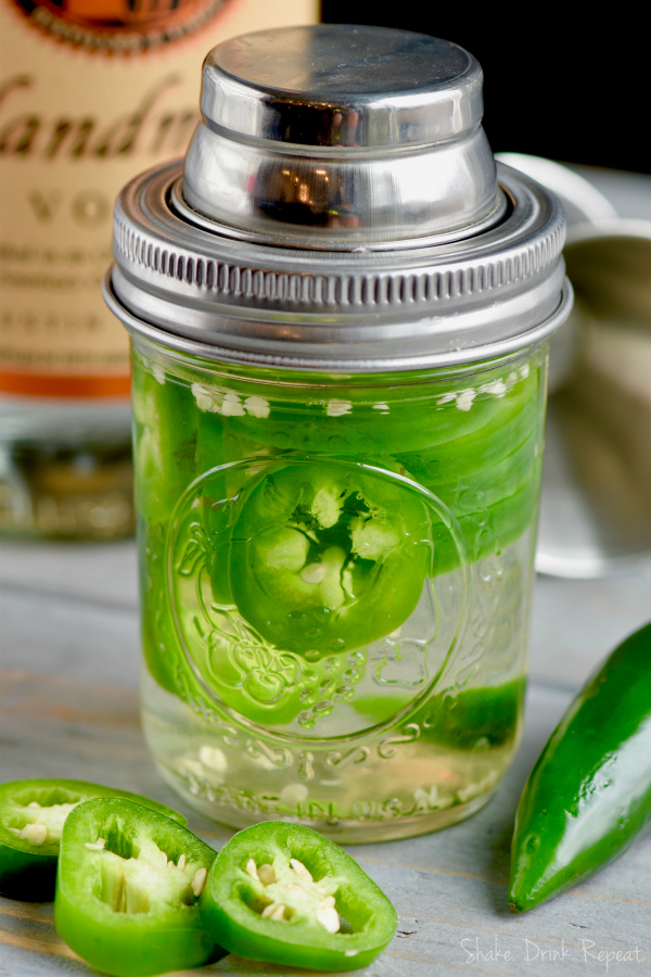 How to Make Jalapeno Infused Vodka