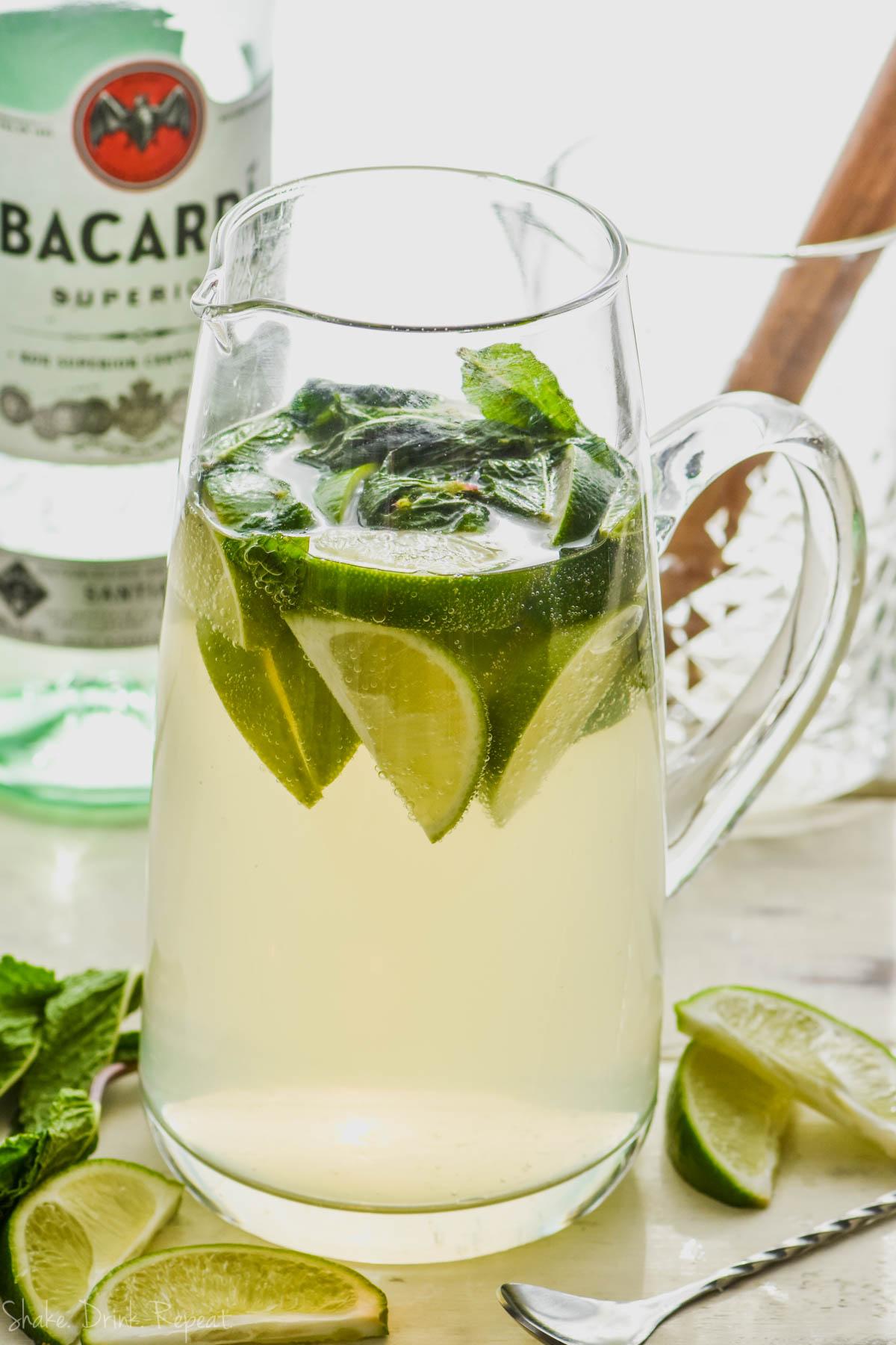 Mojito Sangria Shake Drink Repeat