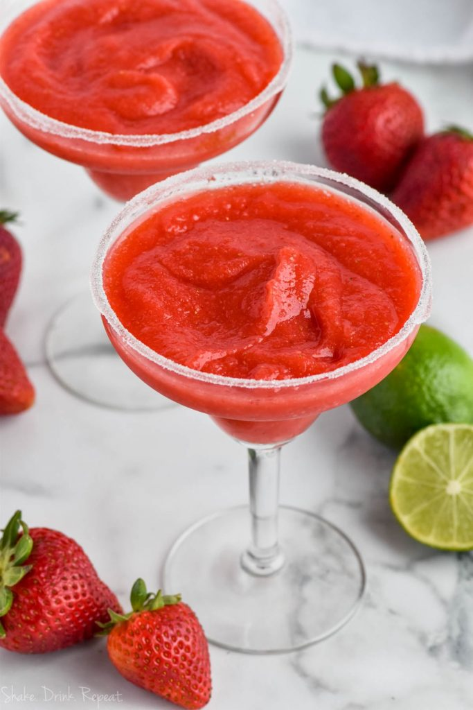 Strawberry Margarita Shake Drink Repeat