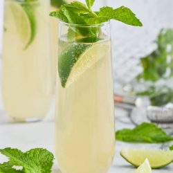 Champagne Moscow Mule