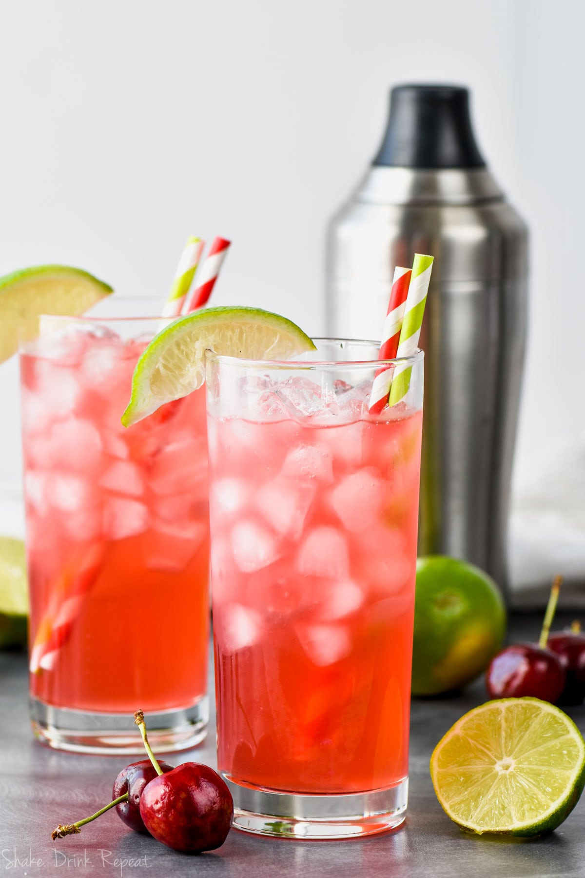 cherry_lime_vodka_tonic_recipe_image - Shake Drink Repeat