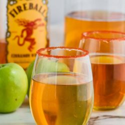 Fireball Whiskey Punch