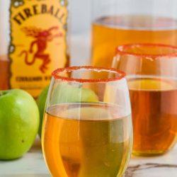 Fireball Whiskey Punch
