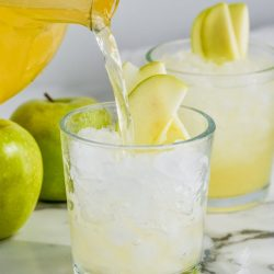 Caramel Apple Vodka Punch