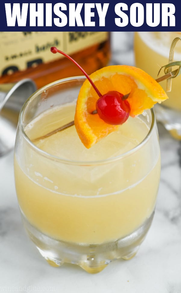 the best frothy whiskey sour recipe