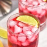 pinterest graphic for vodka cranberry